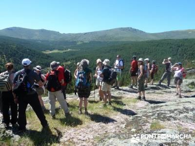 Senderismo valle Río Lozoya - Río Aguilón y Cascada del Purgatorio; el senderismo; los senderos